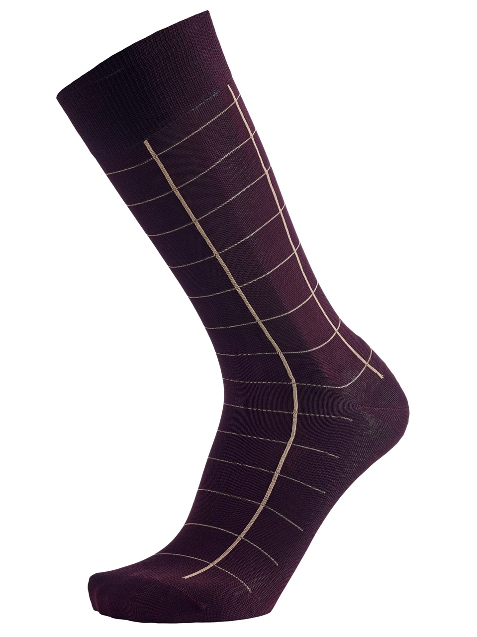 Picture of Striped Bordeaux/Bege