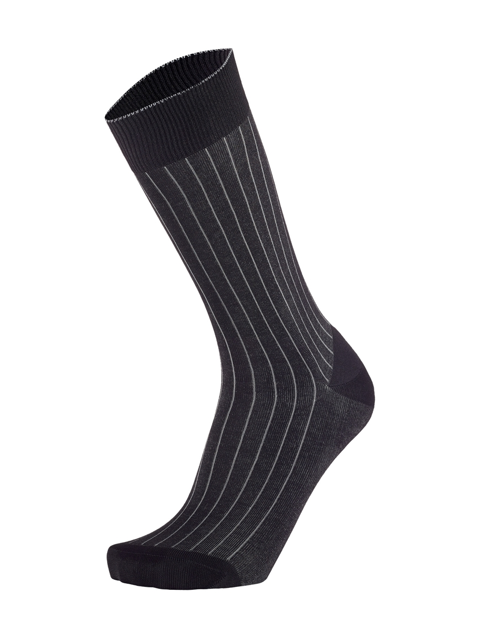 Picture of 2-Color Ribbed Black/Grey
