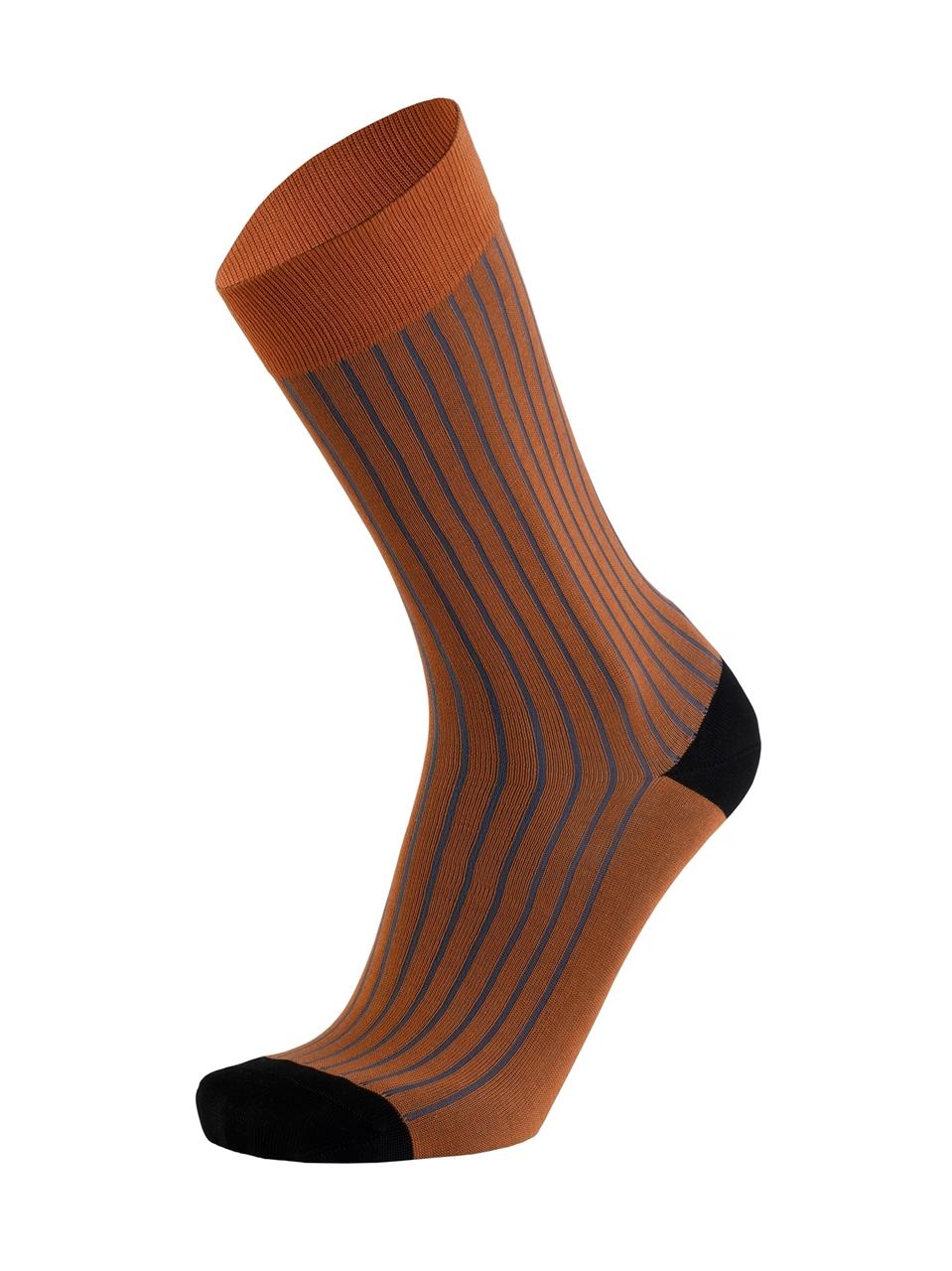 Picture of Hidden Stripes Burnt Orange/Bluestone