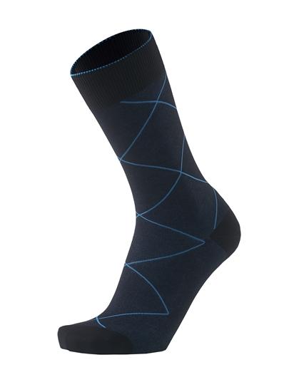 Imagem de 2-COLOR SQUARES BLACK/BLUE