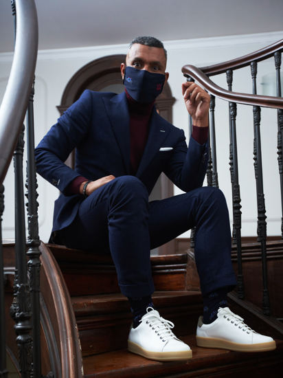 Picture of MASK&SOCKS BICYCLES BLUE