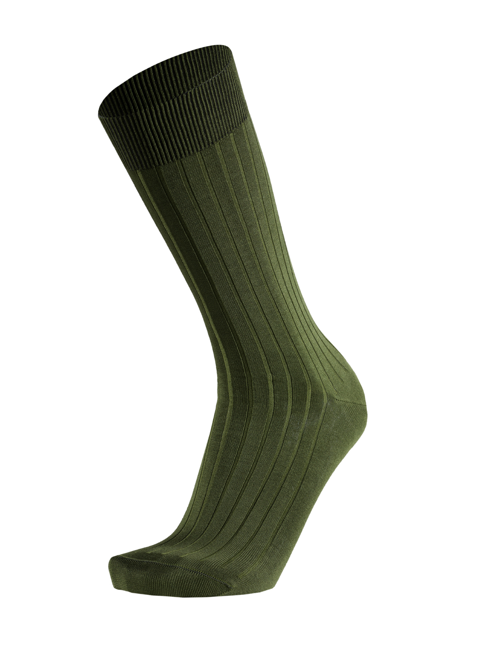 Picture of CANALÉ OLIVE GREEN FIL D'ECOSSE